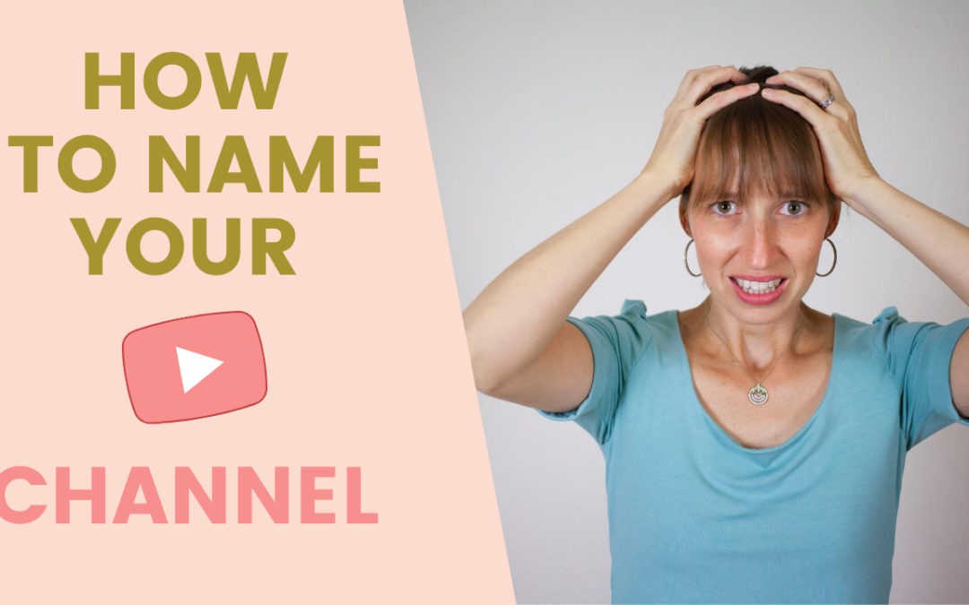 Good names for a YouTube channel for Sole Proprietorship | 4 CATEGORIES and 3 TIPS